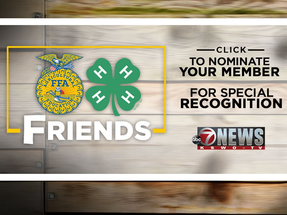 FFA/4-H Friends Entry Form