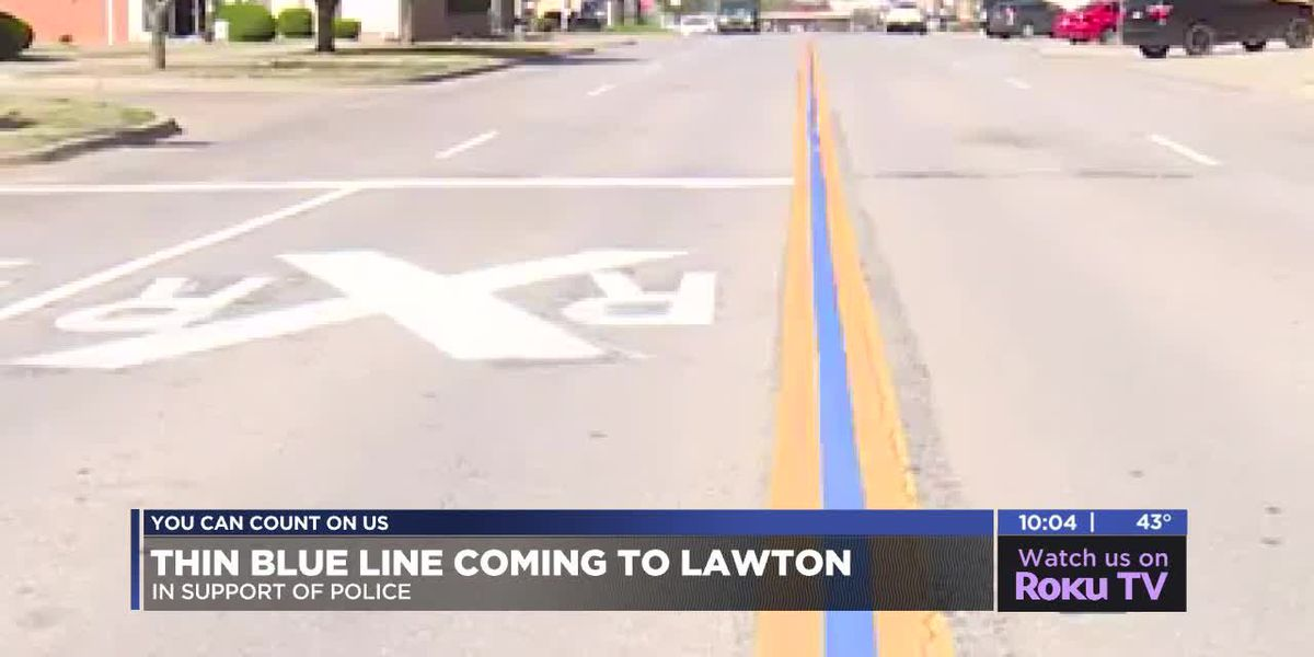 Police, supporters excited about Thin Blue Line coming to Lawton