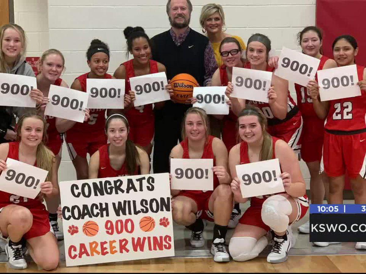 Duke High School coach gets 900th career win