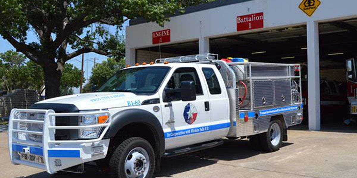 Wichita Falls Fire Department welcomes new engine
