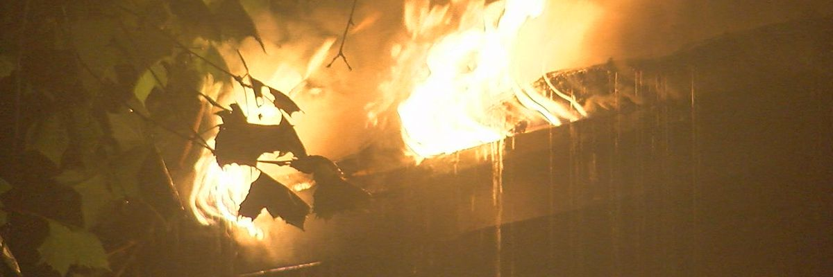 Lawton resident hurt, home destroyed after Monday morning fire
