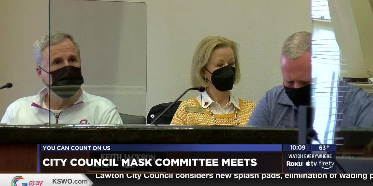 Lawton City Council to discuss mask mandate at next meeting