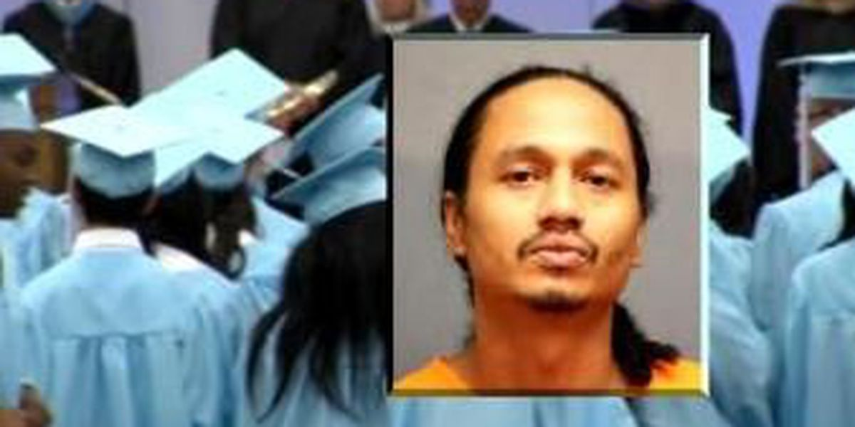 Man arrested for shouting curse words at EHS graduation