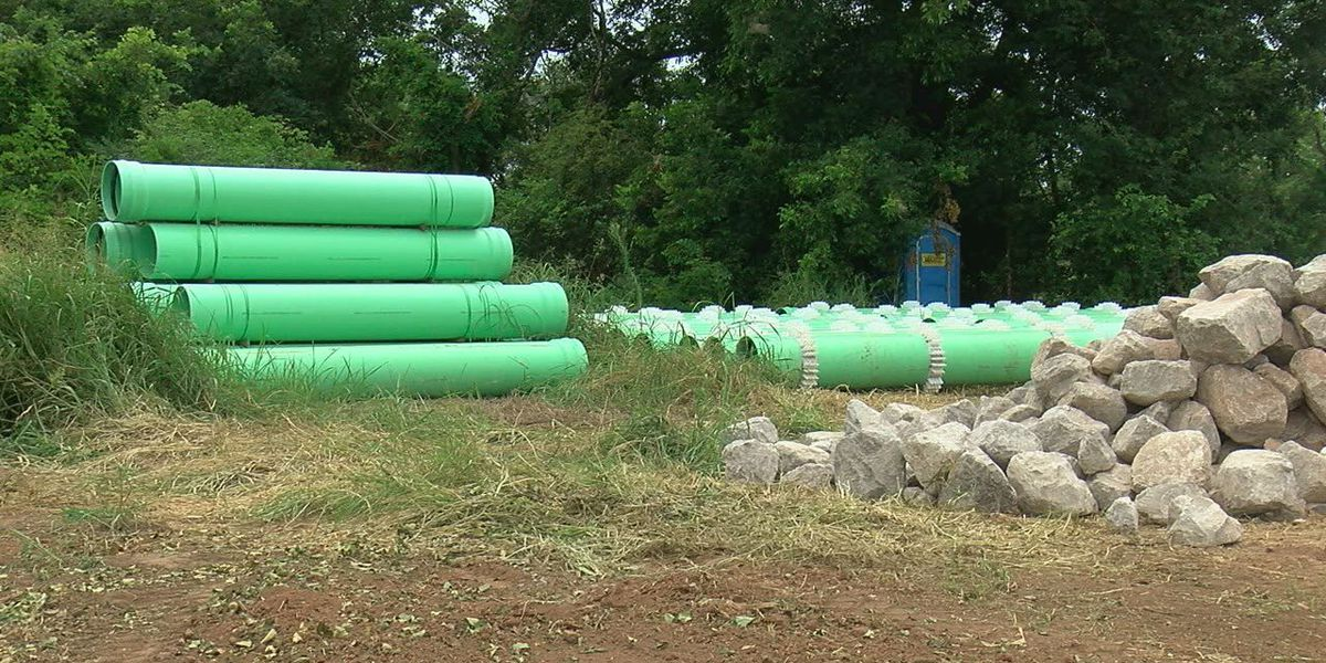 Seven mile sewer line nearly complete in east Lawton
