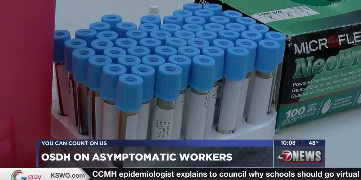 Oklahoma State Department of Health allowing asymptomatic COVID-positive health workers to keep working