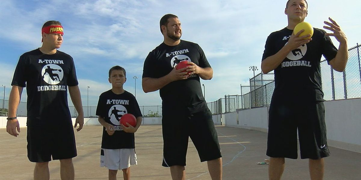 Apache dodgeball team competing for national championship
