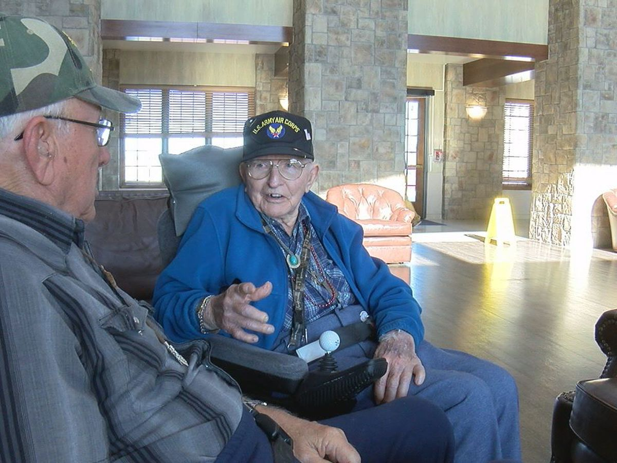 Two veterans share memories about being in the Army