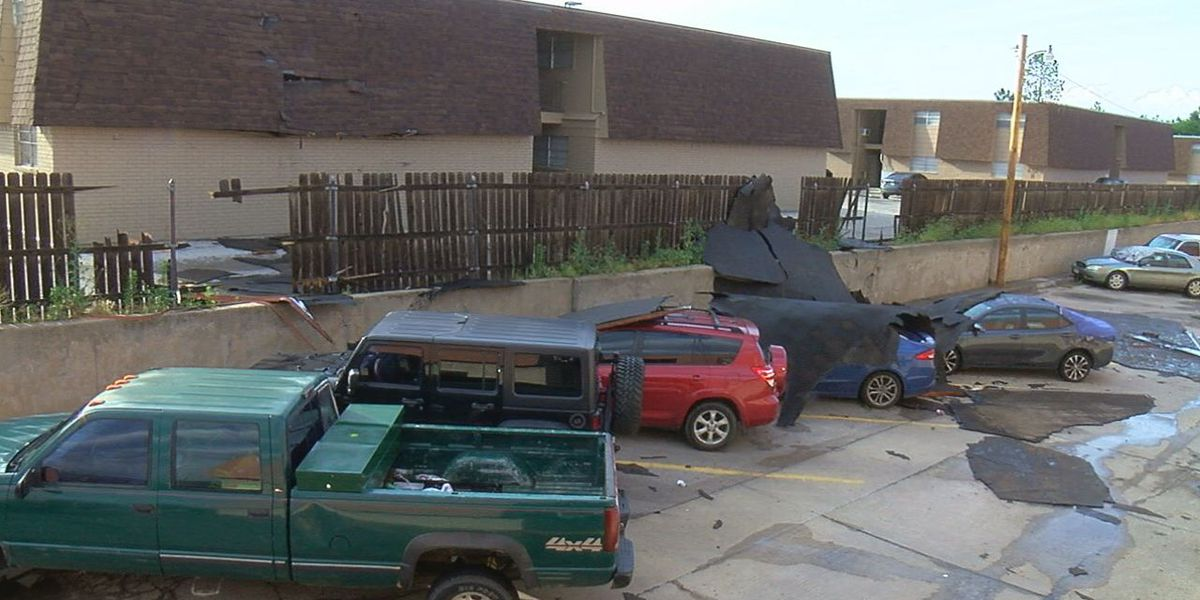 Lawton residents recount Saturday night storm