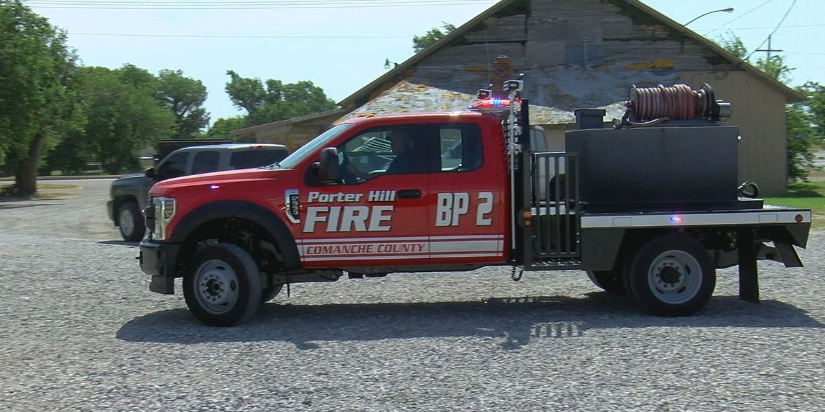 Porter Hill VFD buys first-ever new brush truck
