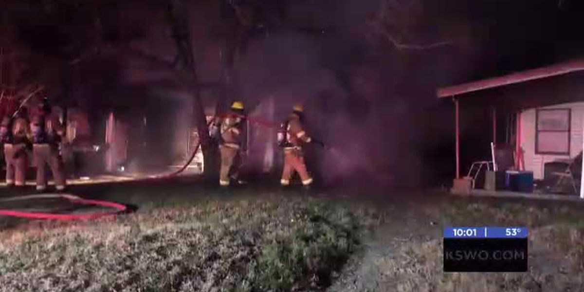Fire destroys home in Lawton