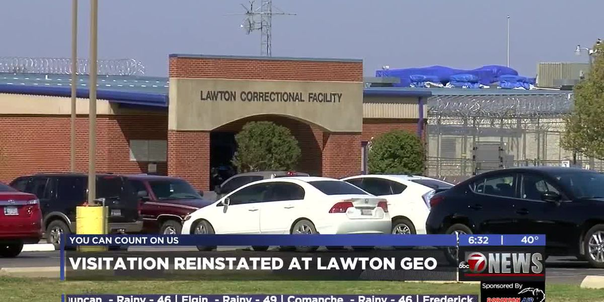 Visitation reinstated at Lawton GEO