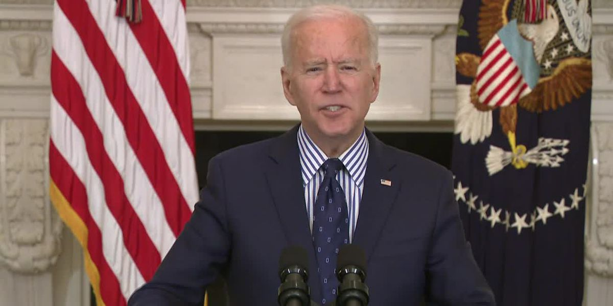 Biden: Virus aid bill designed to relieve suffering