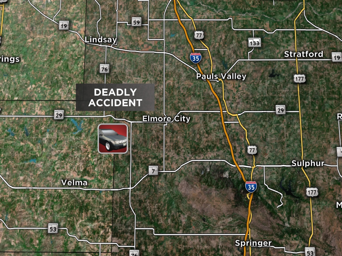 Cotton County man dies from injuries in Sunday wreck