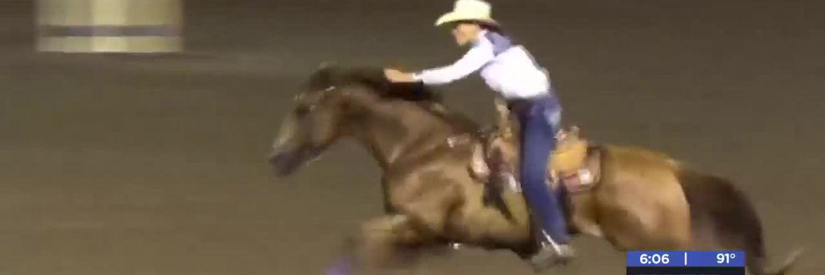 Minco, OK Barrel Racer proves age is just a number-8/6/20