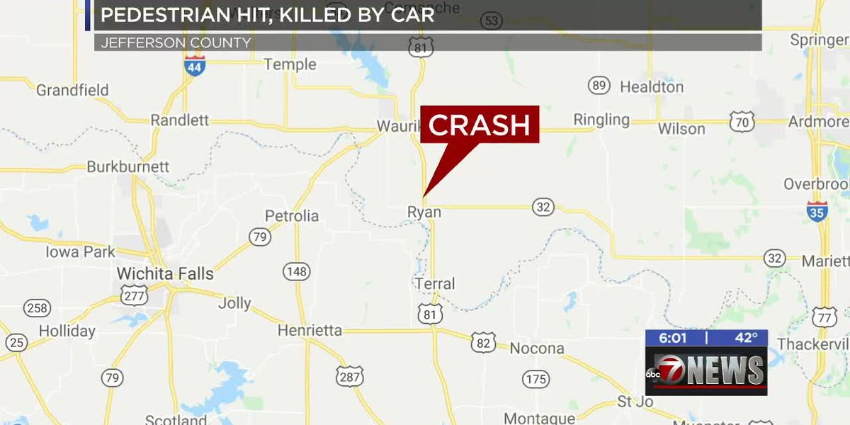 Jefferson County man dies after being hit by vehicle