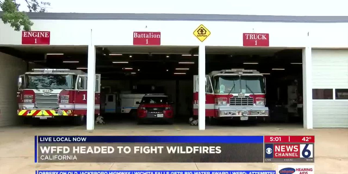 WFFD sends firefighters to California