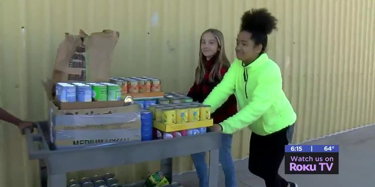 Flower Mound Elementary students donate to Regional Food Bank