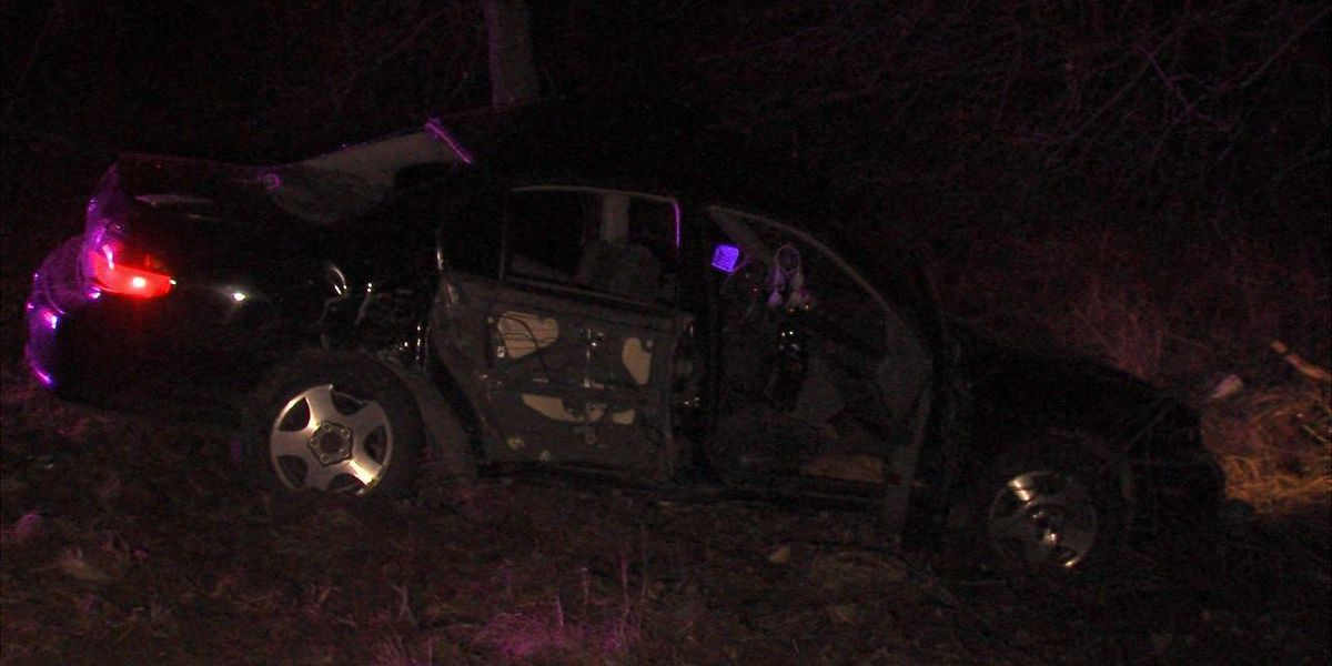 Rollover crash under investigation