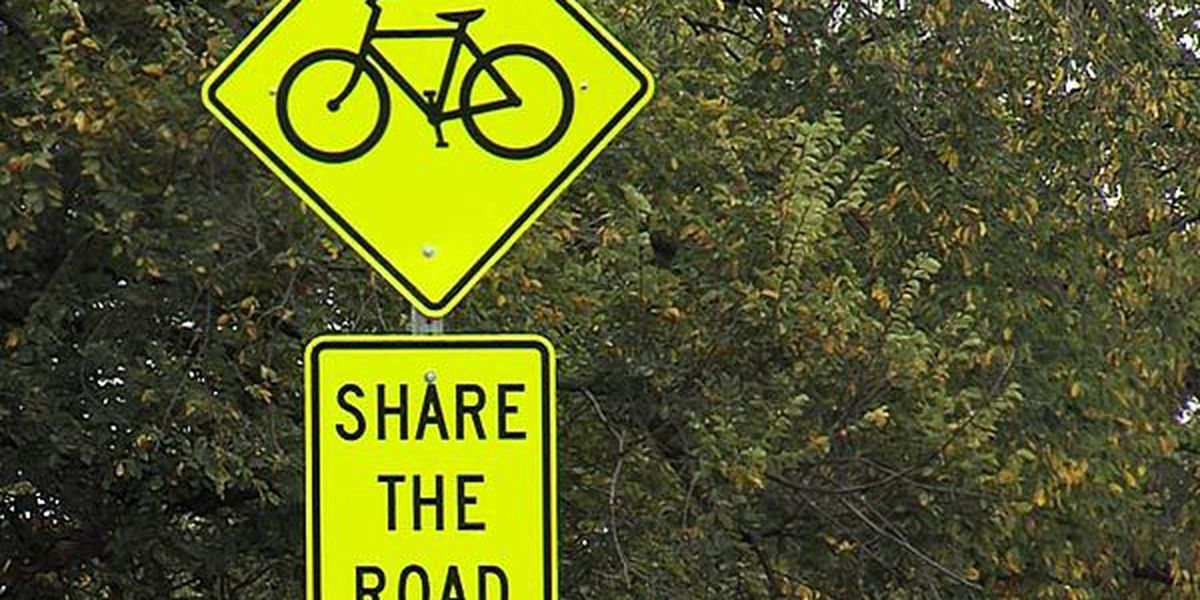 Share the road: Bike path expanded to section of Cache Road