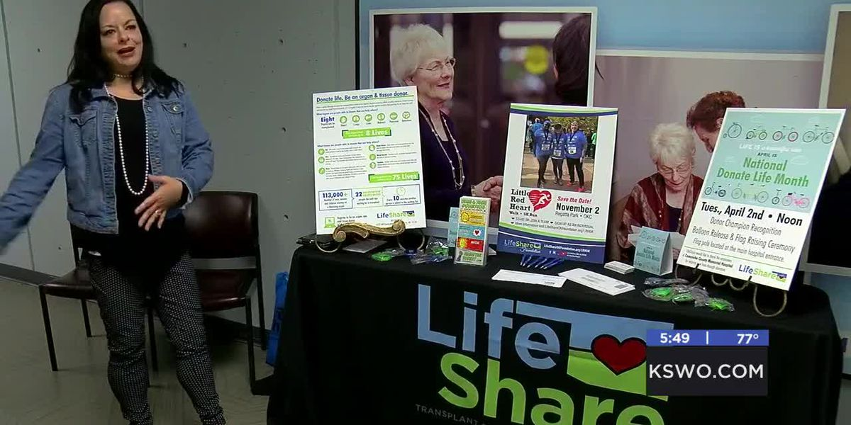 MedWatch: Woman spreads awareness of organ donation -4/7/2019