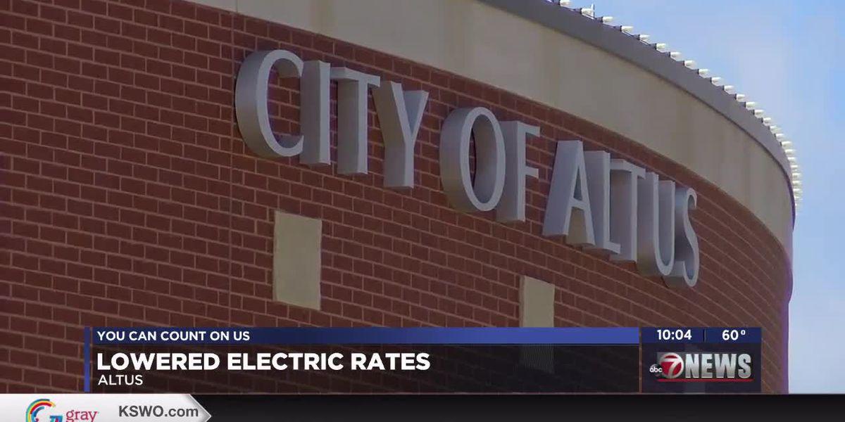 Altus City Council votes to lower electric rates