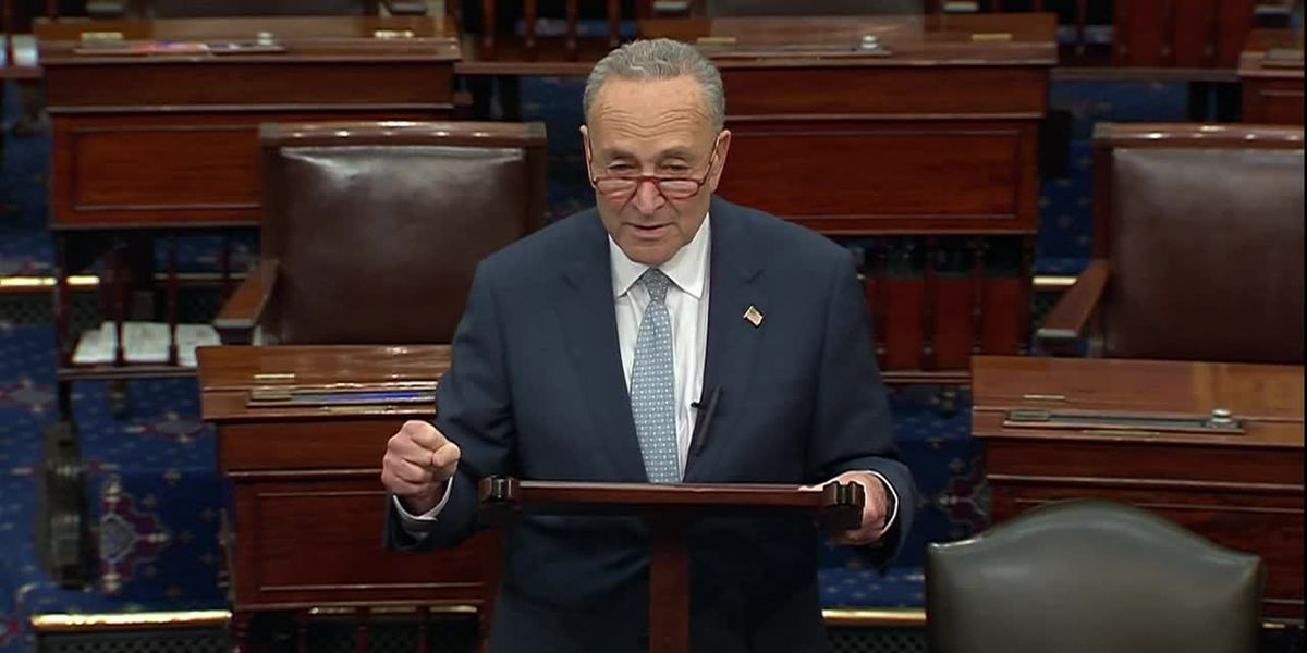 'Heroes fund': Schumer announces plan for essential workers pay increase