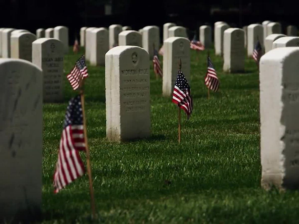 Arlington National Cemetery running out of room for veterans' burials