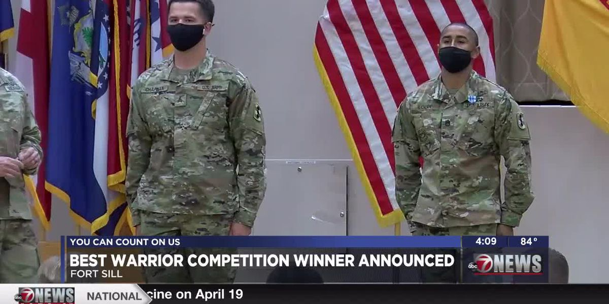 Ft. Sill announces Best Warrior Competition winners