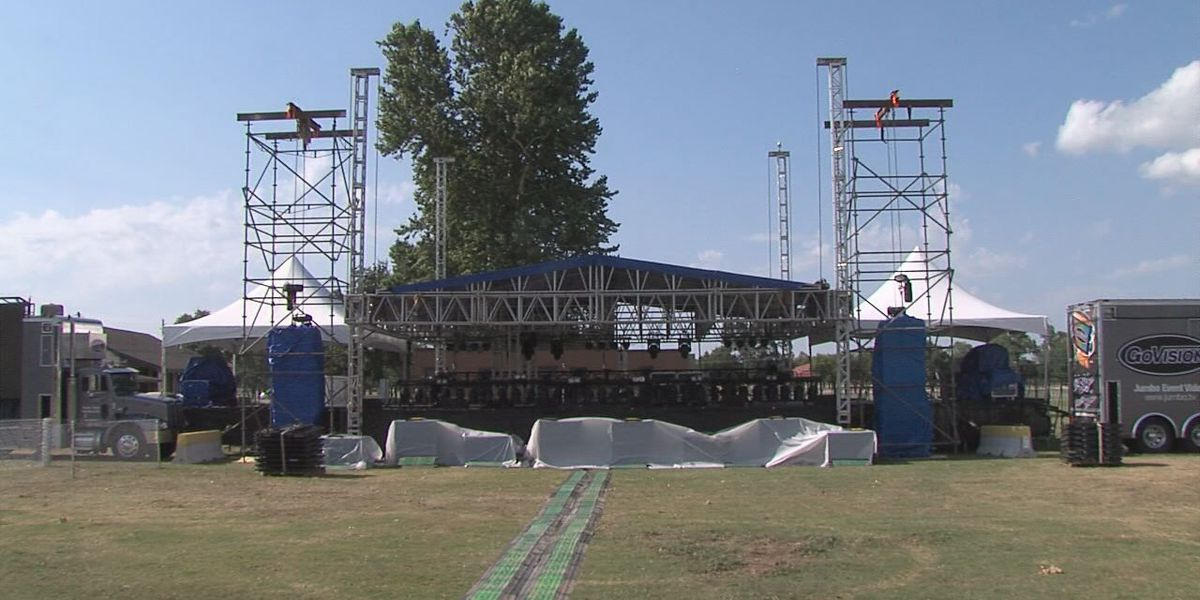 Stage set for Fort Sill's Summer Concert