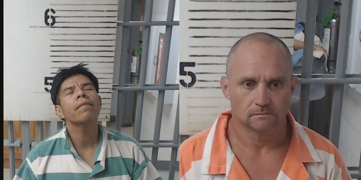 Two arrested after chase in Cotton County