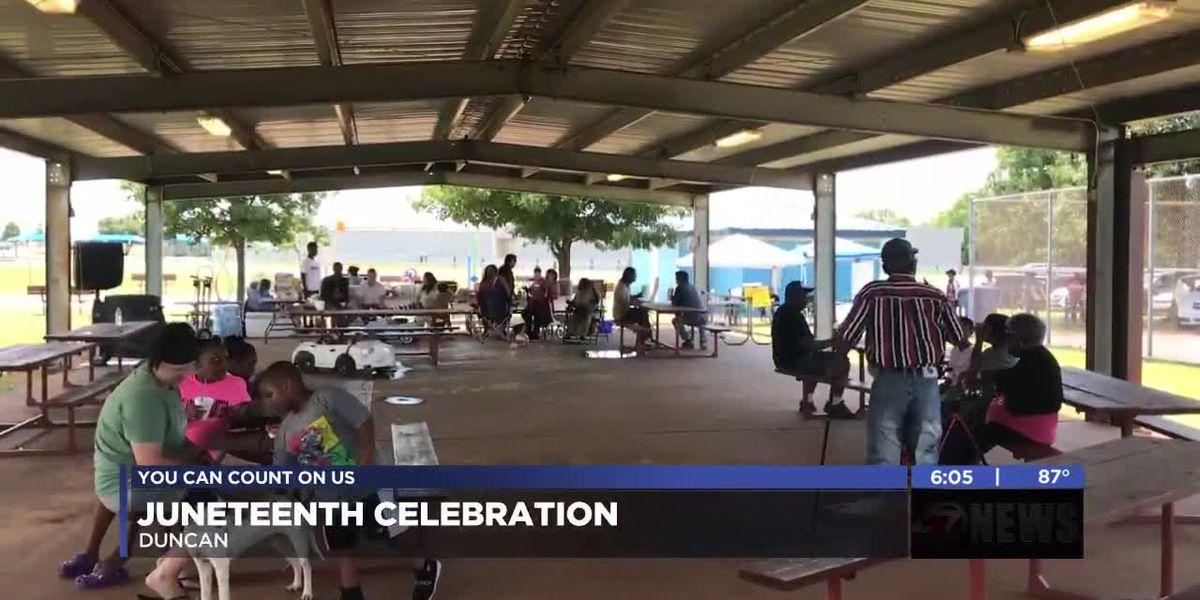 Duncan community celebrates Juneteenth