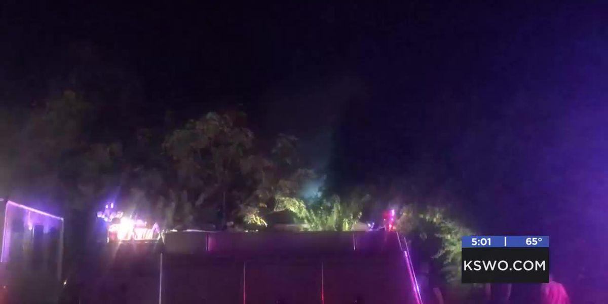 Lawton firefighters battle early morning flames