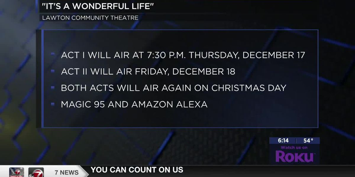 "LCT presents the radio show of ""It's a Wonderful Life"""