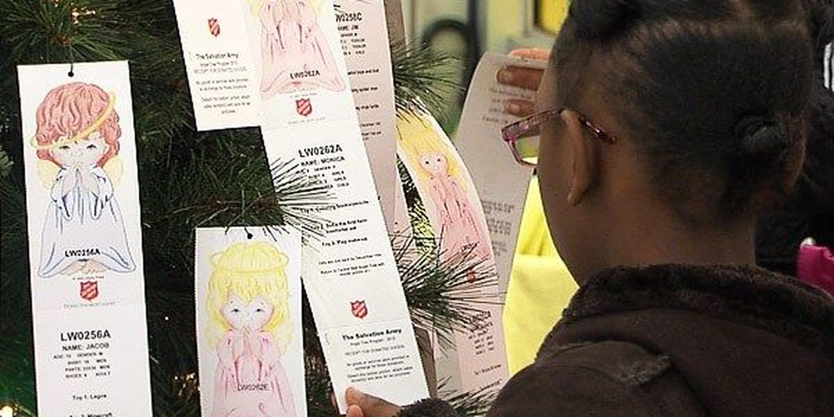 Angel Tree: Shoppers adopt angels