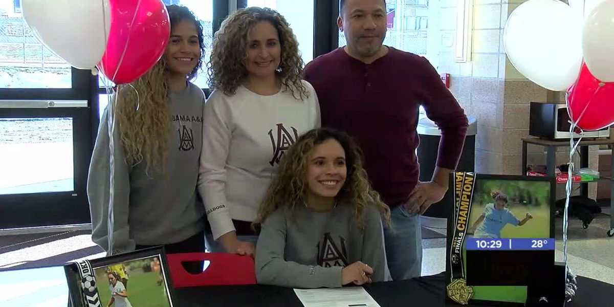Cache's Valencia signs with Alabama A&M