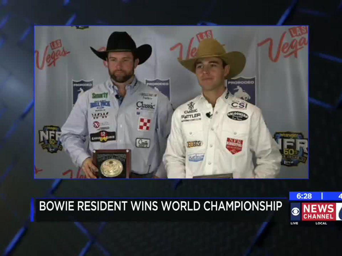 Bowie man wins big at 2018 Wrangler National Finals Rodeo