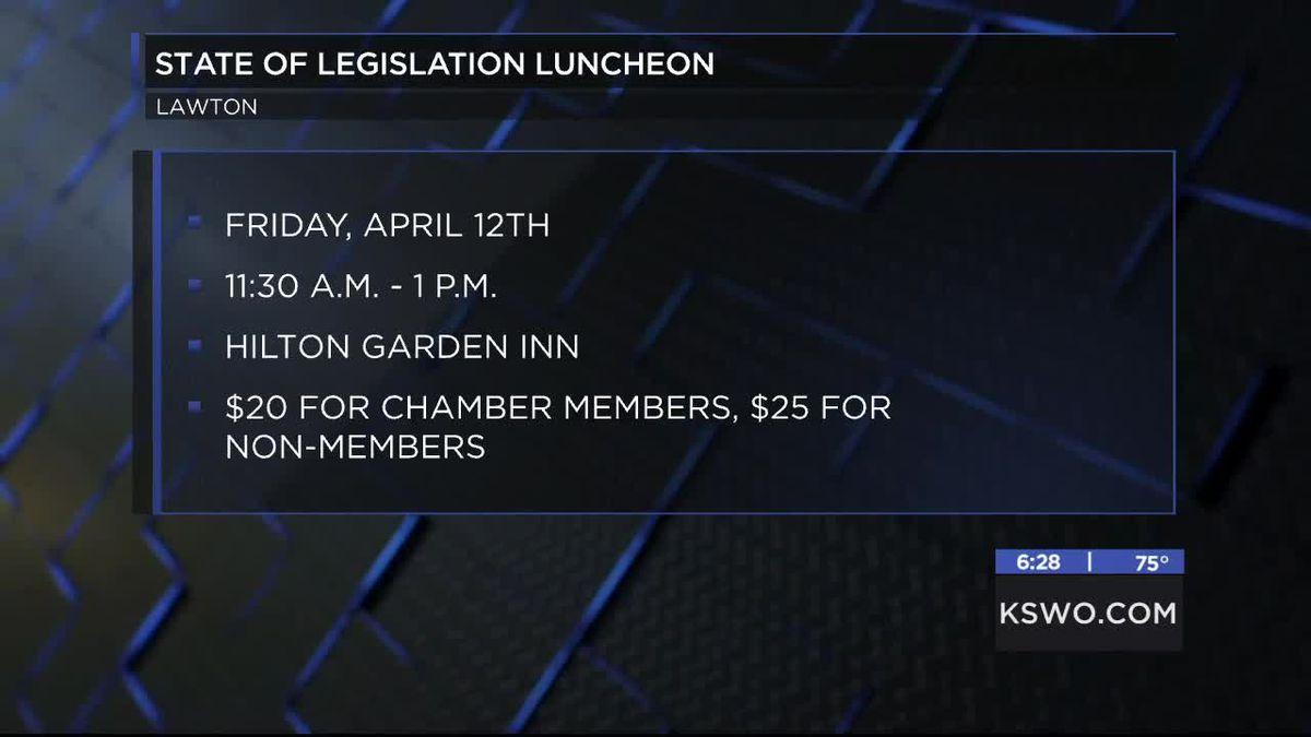 Lawton-Fort Sill Chamber of Commerce hosting legislative luncheon