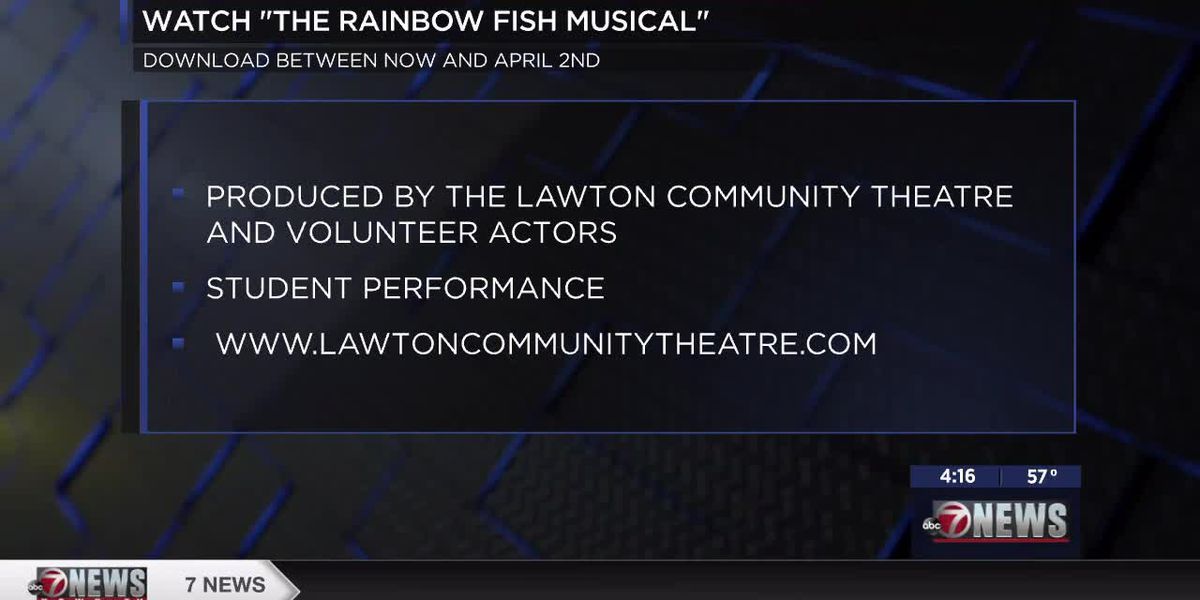 "LCT's children's theatre virtual performance of ""The Rainbow Fish"" begins Wednesday"