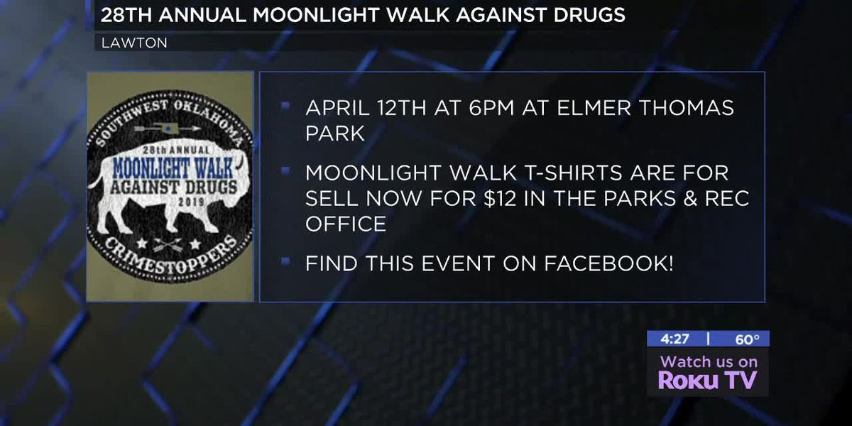 28th annual Moonlight Walk Against Drugs happening in April