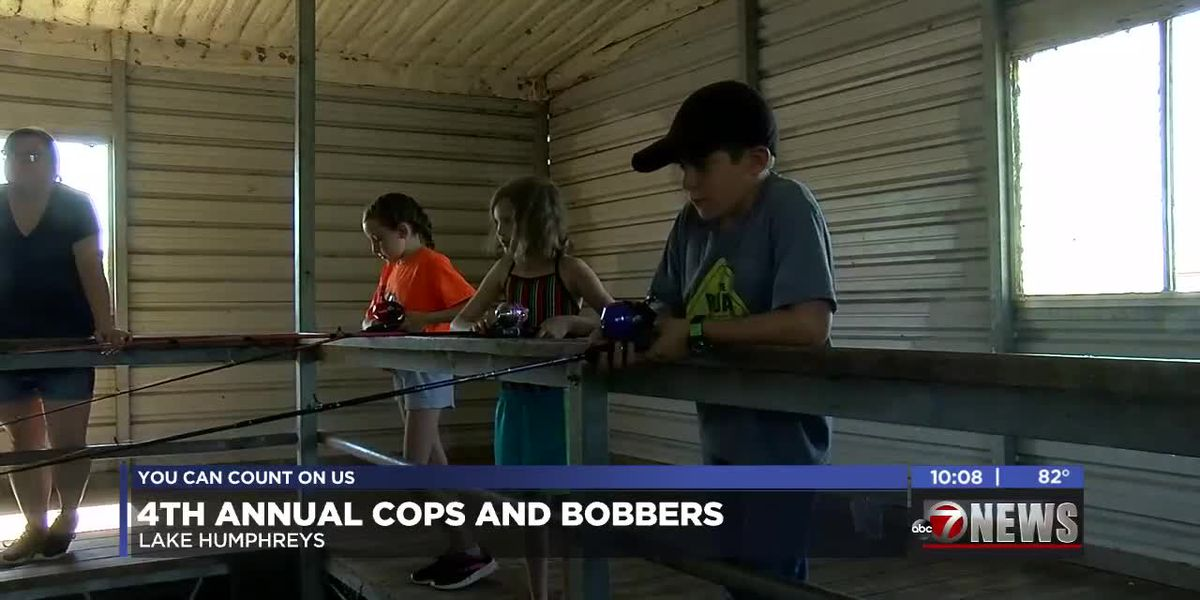 Stephens Co. law enforcement hosts fourth annual Cops and Bobbers fishing tournament