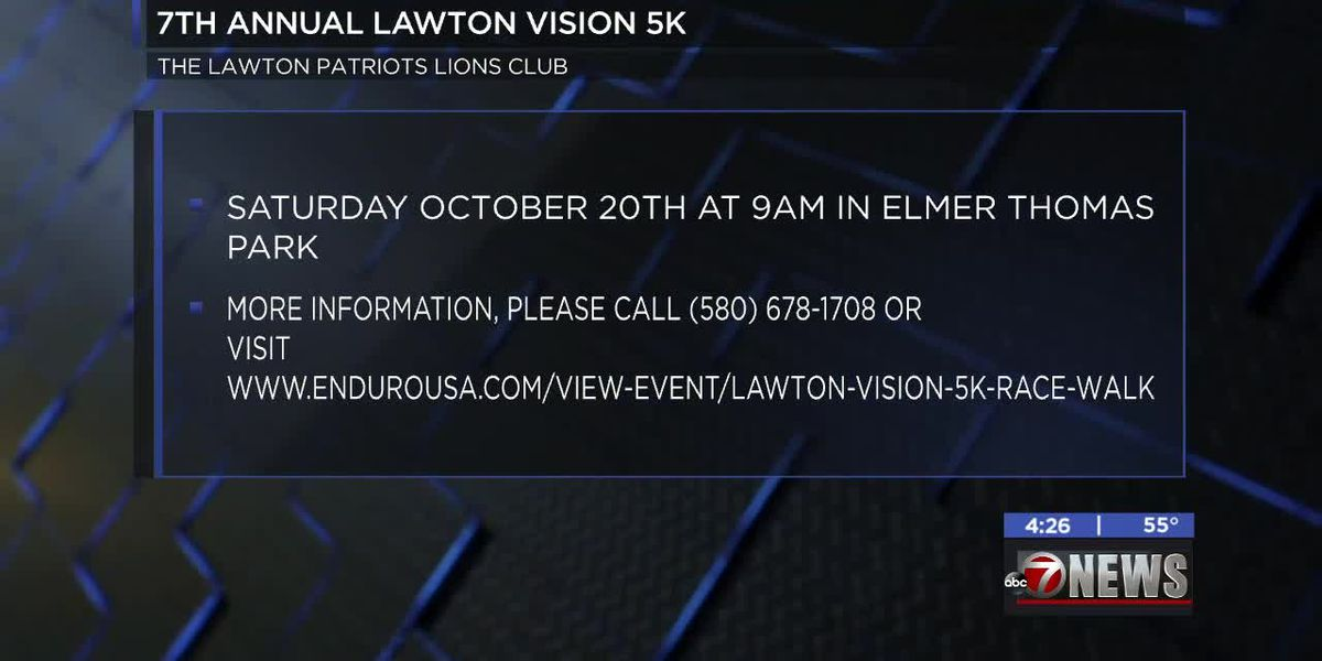 7th Annual Lawton Vision 5K happening Saturday