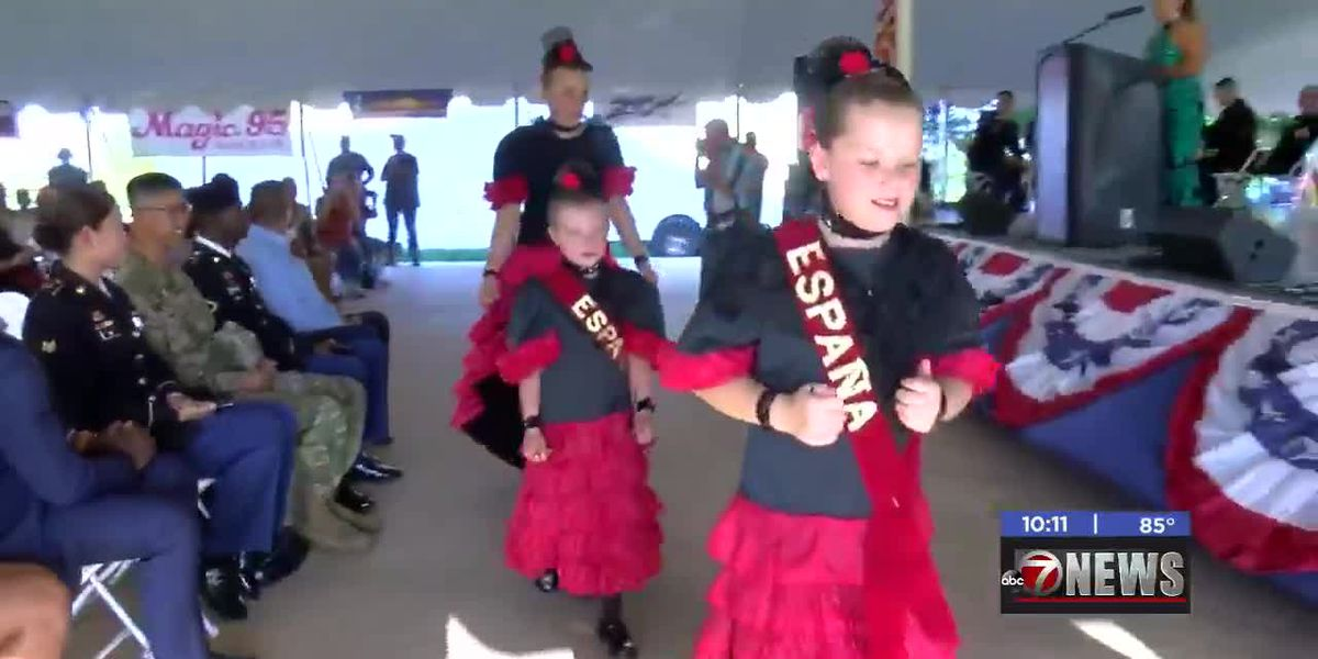 Day one of Lawton's 40th annual International Festival wraps up