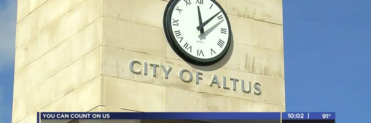 Altus city manager employment on city council agenda