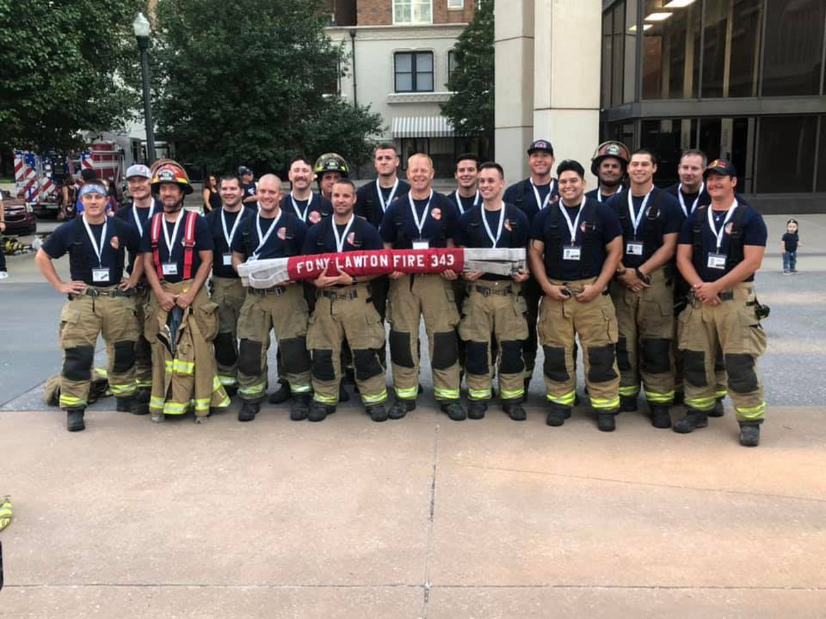 Gas Prices Okc >> SW Oklahoma well represented at OKC 9/11 Memorial Stair Climb