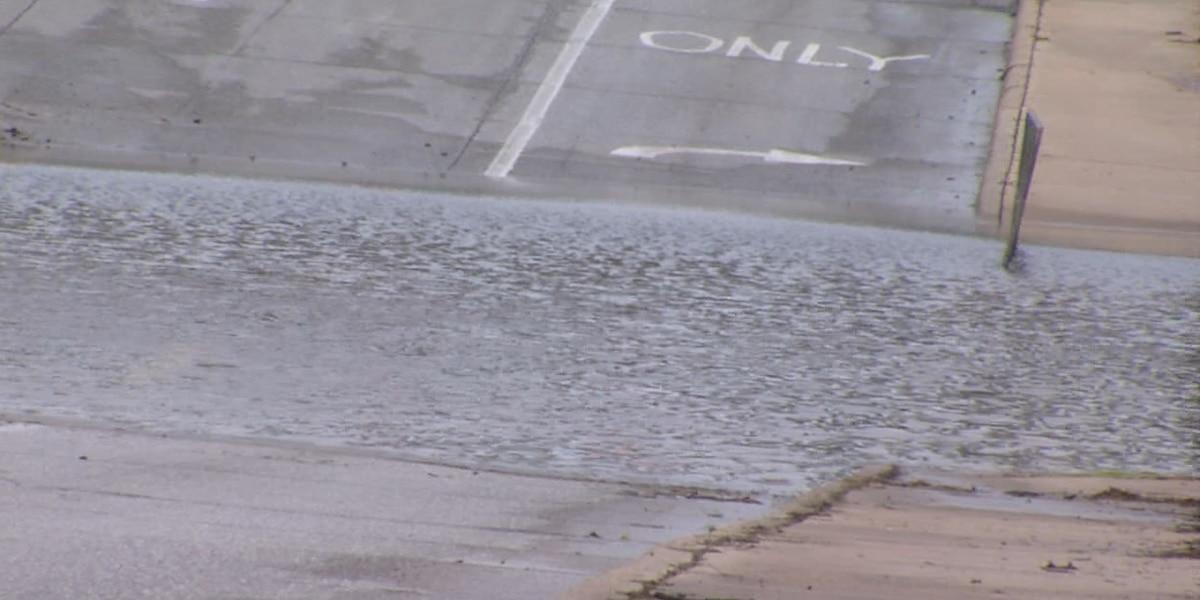 Heavy rains cause road closures in SW OK
