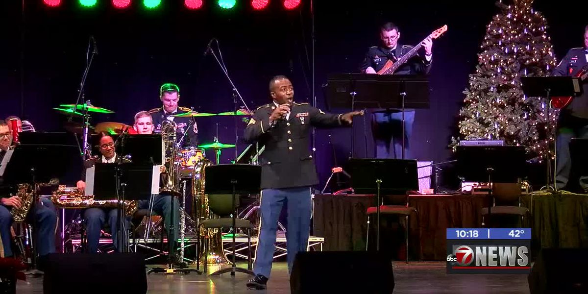 77th Army Band holds annual Christmas concert