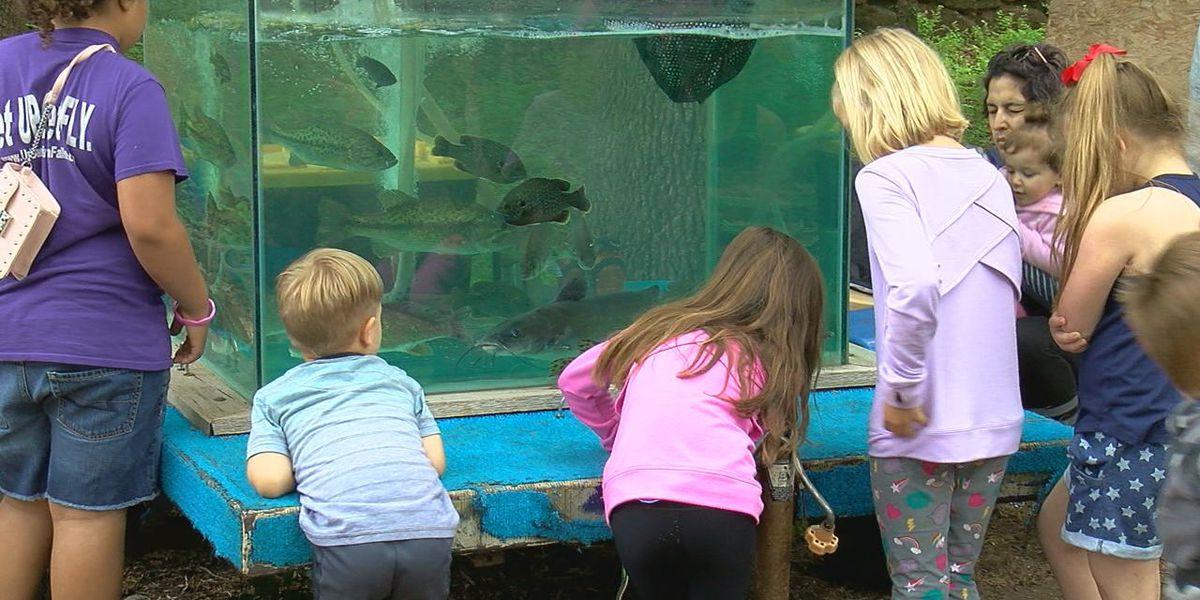 Kids get up close with nature at wildlife refuge