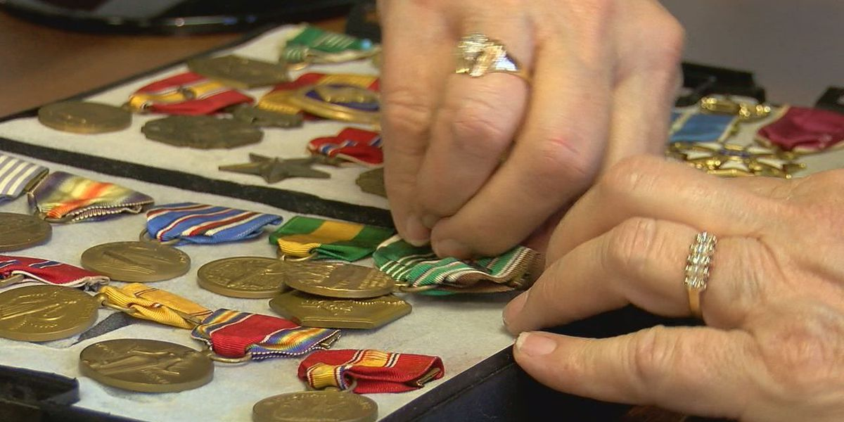 Midwest City veteran seeks the return of his stolen medals
