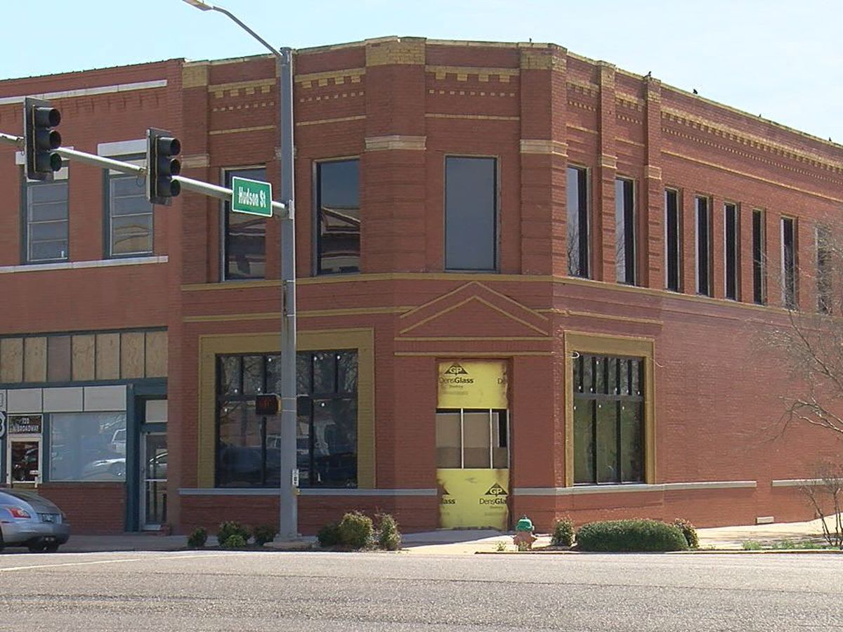 Historic Altus buildings being restored