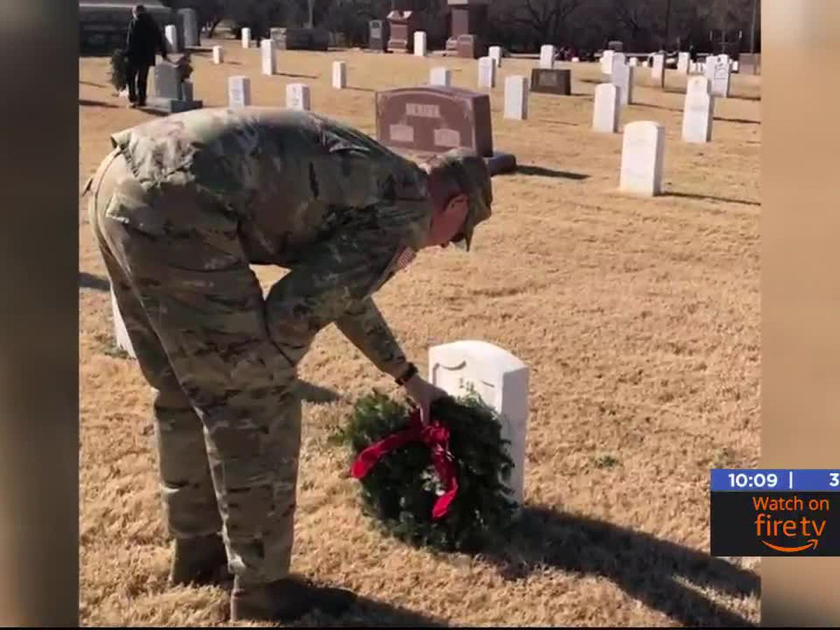 Local charity raises money for wreaths on graves